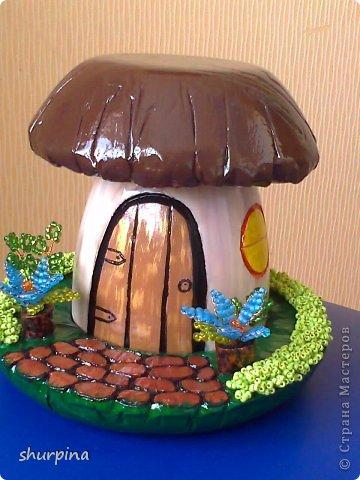 Сказочный гриб-домик фото 30