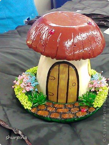Сказочный гриб-домик фото 29