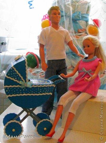 Как сделать коляску для кукол своими руками барби