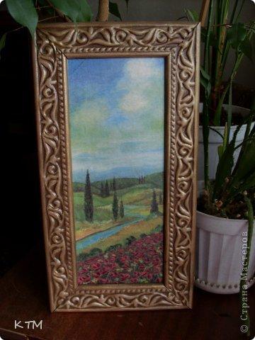 Стеклянная тарелка ,прямой декупаж ,подрисовка фона красками. фото 8