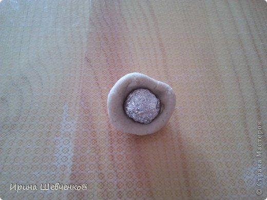 Мастер-класс Лепка МК улитка из соленого теста Акварель Гуашь Тесто соленое Фольга фото 4