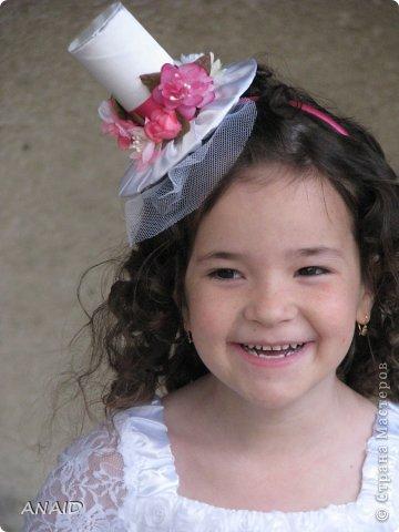 в детский садик на празднование дня рождения сказали принести венок,вот и решила сделать шляпку фото 14