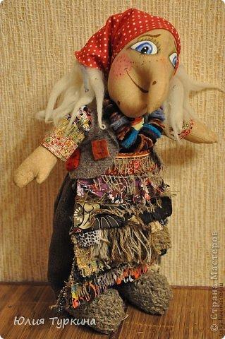 Кукла баба яга своими руками выкройки