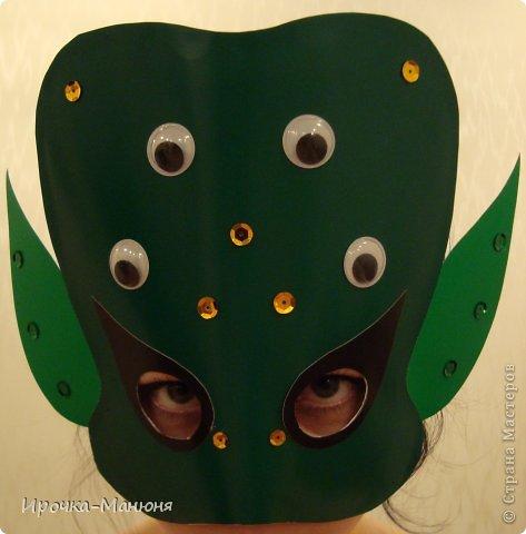 Ох уж, эти школьные мероприятия! Понадобились срочно маски пришельцев ко Дню космонавтики. фото 1