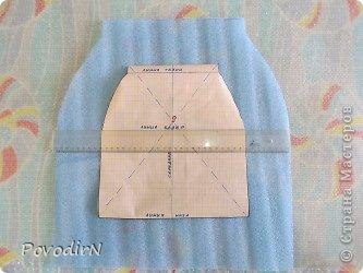 Увеличение выкройки для получения шаблона. фото 1