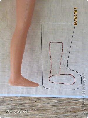 Гардероб Мастер-класс Валяние фильцевание Увеличение выкройки для получения шаблона  фото 3