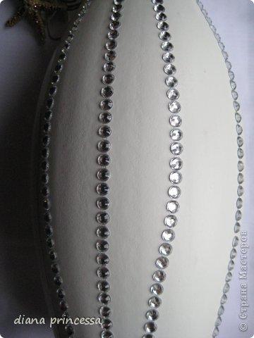 Декор предметов декор вазы Бисер Гипс фото 2.