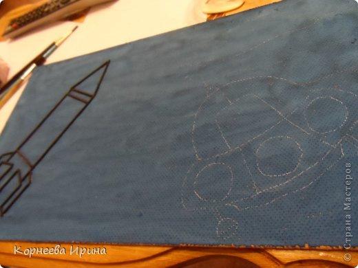 В детский сад на день космонавтики мы смастерили вот такую ракету. Спасибо Ольге Зимовой за идею http://stranamasterov.ru/user/55583 всем очень понравилось и дети с удовольствием помогали фото 5