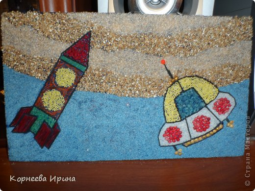 В детский сад на день космонавтики мы смастерили вот такую ракету. Спасибо Ольге Зимовой за идею http://stranamasterov.ru/user/55583 всем очень понравилось и дети с удовольствием помогали фото 3