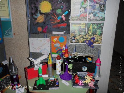 В детский сад на день космонавтики мы смастерили вот такую ракету. Спасибо Ольге Зимовой за идею http://stranamasterov.ru/user/55583 всем очень понравилось и дети с удовольствием помогали фото 8