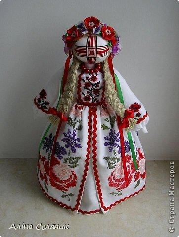 Украинская авторская кукла-мотанка. Прекрасный оберег и украшение для Вашего дома! фото 1