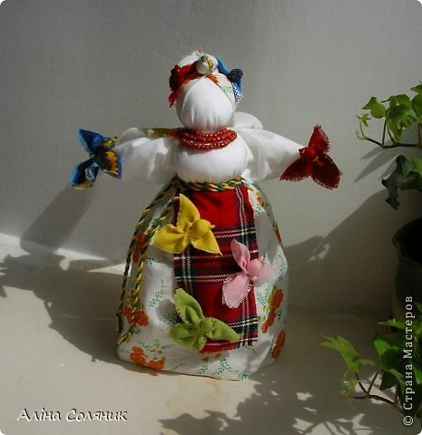 Украинская авторская кукла-мотанка. Прекрасный оберег и украшение для Вашего дома! фото 21