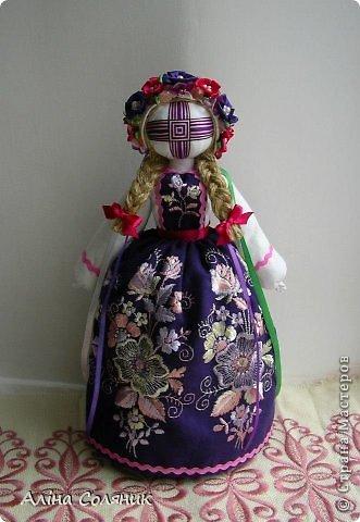 Украинская авторская кукла-мотанка. Прекрасный оберег и украшение для Вашего дома! фото 24