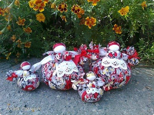 Украинская авторская кукла-мотанка. Прекрасный оберег и украшение для Вашего дома! фото 4