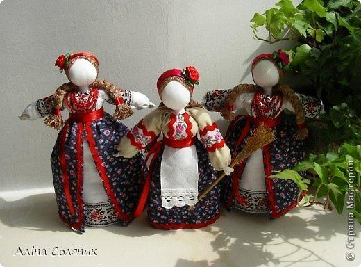 Украинская авторская кукла-мотанка. Прекрасный оберег и украшение для Вашего дома! фото 22