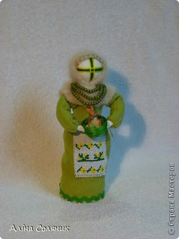 Украинская авторская кукла-мотанка. Прекрасный оберег и украшение для Вашего дома! фото 19