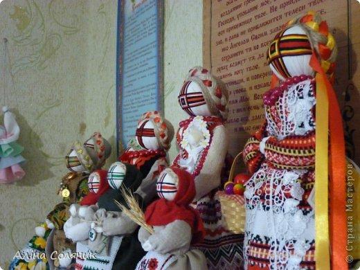 Украинская авторская кукла-мотанка. Прекрасный оберег и украшение для Вашего дома! фото 11