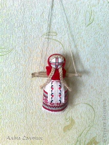 Украинская авторская кукла-мотанка. Прекрасный оберег и украшение для Вашего дома! фото 13