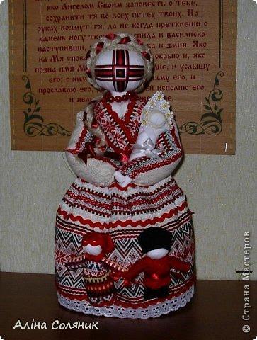 Украинская авторская кукла-мотанка. Прекрасный оберег и украшение для Вашего дома! фото 28