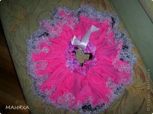 шилась юбочка на пятилетие одной прекрасной мадамы,но мне так нетерпелось, что я сама влезла в это чудо.))))))))) фото 2
