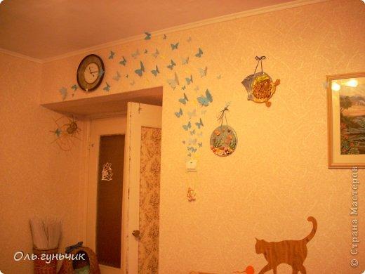 Это снова я! Здравствуйте! Мои бабочки. Очень мне понравилась идея бабочек вылетающих из розетки. Идея взята от сюда: https://stranamasterov.ru/node/456691