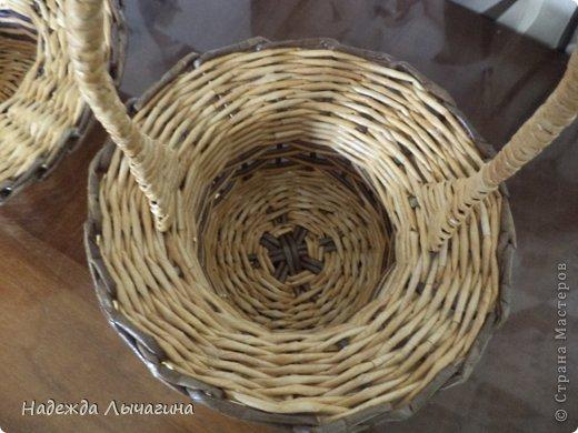 dsc00235 Корзина для белья из газетных трубочек