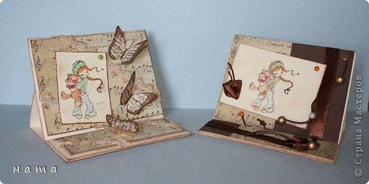 Благодаря бабочкам Светланки (КотМяу) СПАСИБО!!! за них!!!  родились открыточки фото 2