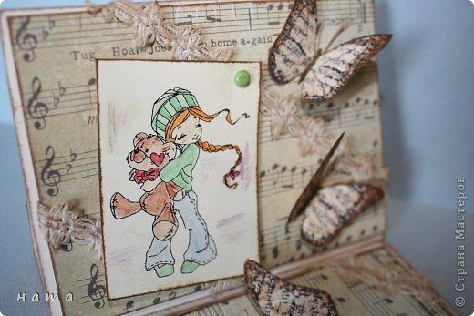 Благодаря бабочкам Светланки (КотМяу) СПАСИБО!!! за них!!!  родились открыточки фото 3