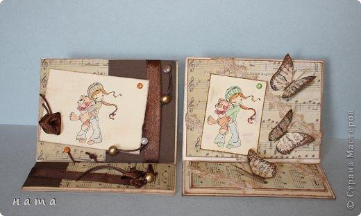 Благодаря бабочкам Светланки (КотМяу) СПАСИБО!!! за них!!!  родились открыточки фото 12
