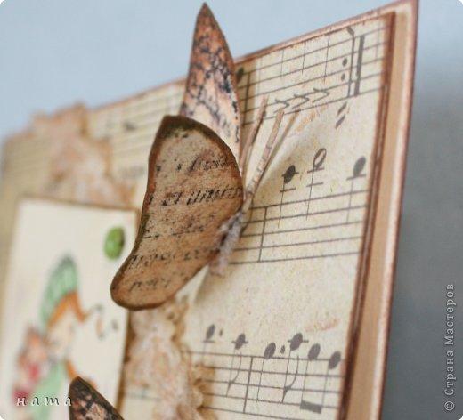 Благодаря бабочкам Светланки (КотМяу) СПАСИБО!!! за них!!!  родились открыточки фото 5