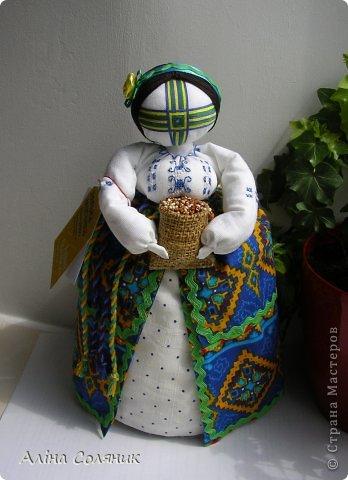 Украинская авторская кукла-мотанка. Прекрасный оберег и украшение для Вашего дома! фото 38