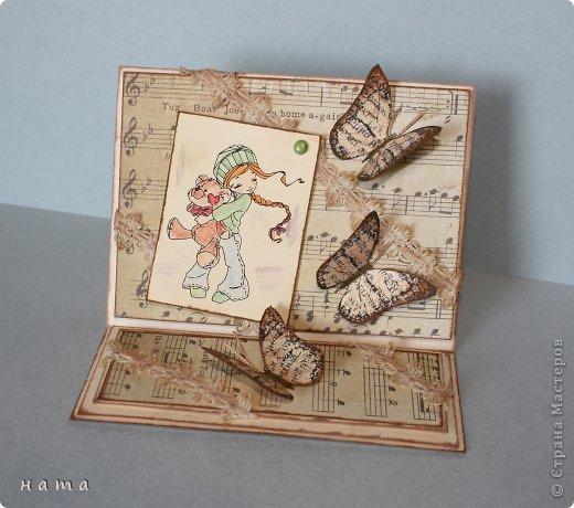 Благодаря бабочкам Светланки (КотМяу) СПАСИБО!!! за них!!!  родились открыточки фото 4