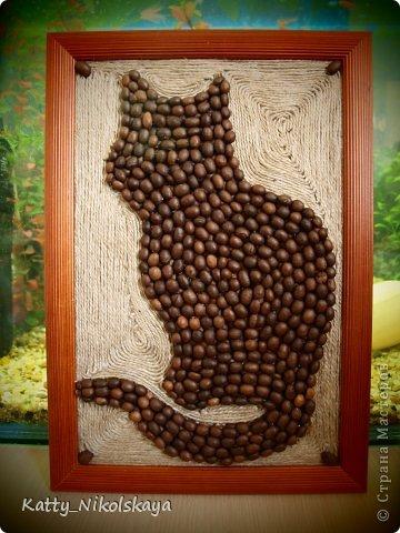 Здравствуйте, дорогие мастера и мастерицы! Разрешите представить Вам кота редкой породы... Итак, знакомьтесь - Кофейный кот!