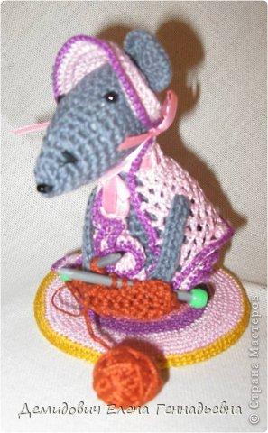 Мышка - рукодельница. Устюгова Валерия. 2 а класс