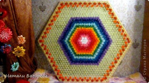 Плетение - Кружева на рамках Платки и салфетки сделанный по особой технологии плетения.