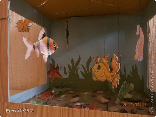 Рыбки в аквариуме своими руками
