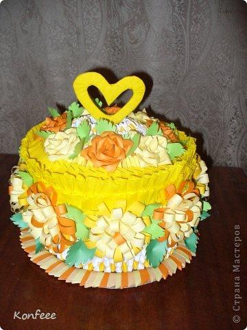 Как делать торт я нашла на другом сайте http://rykami.at.ua/blog/2011-09-08-10 с подробным пошаговым описанием  фото 3