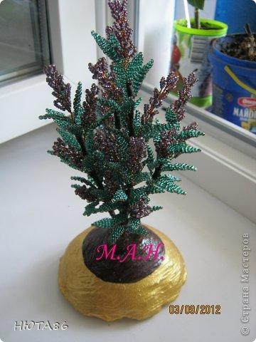 Бисероплетение - Деревья и цветы -8 из бисера.