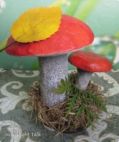 Сделать гриб своими руками поделка из