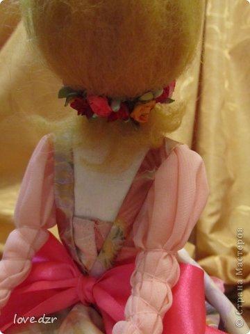 Первая кукла из папье-маше. фото 3