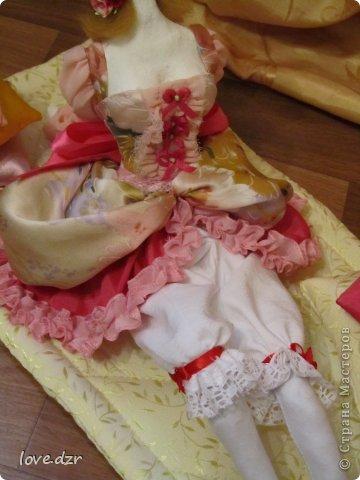 Первая кукла из папье-маше. фото 7