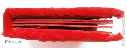 Красный альбом из искусственного меха в подарок малышке, день Рождения которой летом. Размер 15 на 15 см, 5 листов фото 11