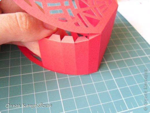 Мастер-класс Упаковка Пасха Вырезание Пасхальные корзинки Бумага фото 15