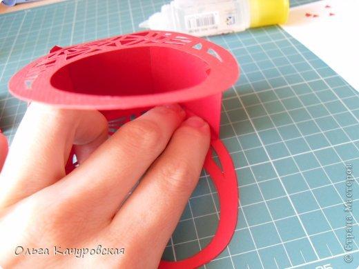 Мастер-класс Упаковка Пасха Вырезание Пасхальные корзинки Бумага фото 16