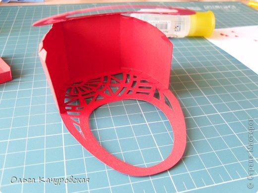 Мастер-класс Упаковка Пасха Вырезание Пасхальные корзинки Бумага фото 17