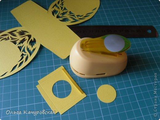Мастер-класс Упаковка Пасха Вырезание Пасхальные корзинки Бумага фото 19