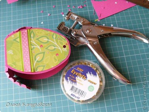 Мастер-класс Упаковка Пасха Вырезание Пасхальные корзинки Бумага фото 26