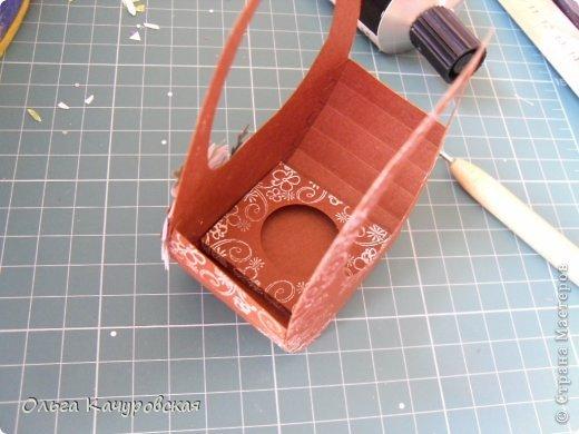 Мастер-класс Упаковка Пасха Вырезание Пасхальные корзинки Бумага фото 24