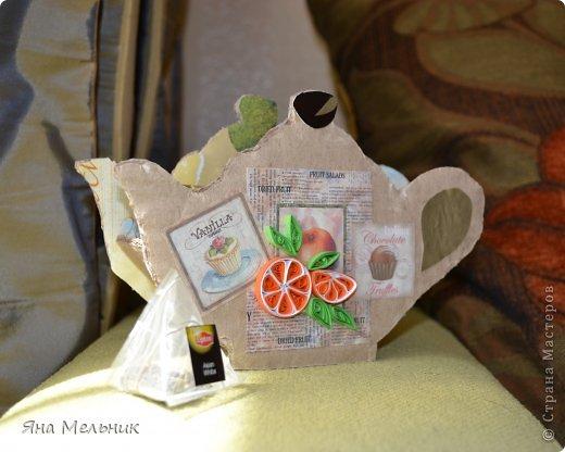 Поделки своими руками из пакетиков чая