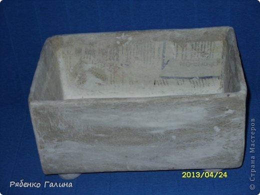 Ящик из папье маше своими руками